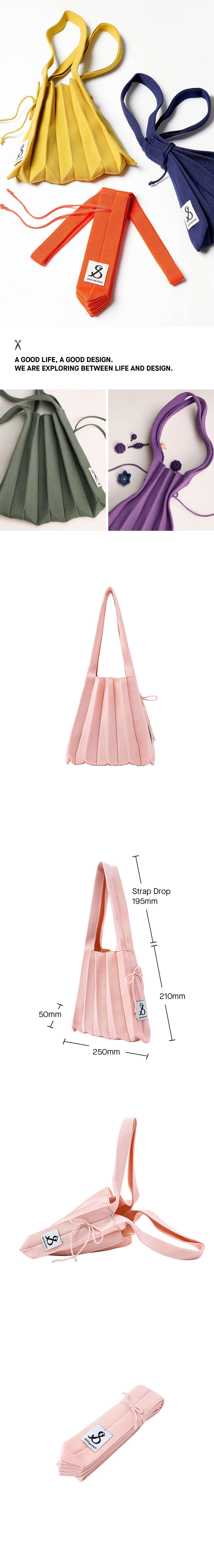 조셉앤스테이시(JOSEPH&STACEY) Lucky Pleats Knit S Millennial Pink