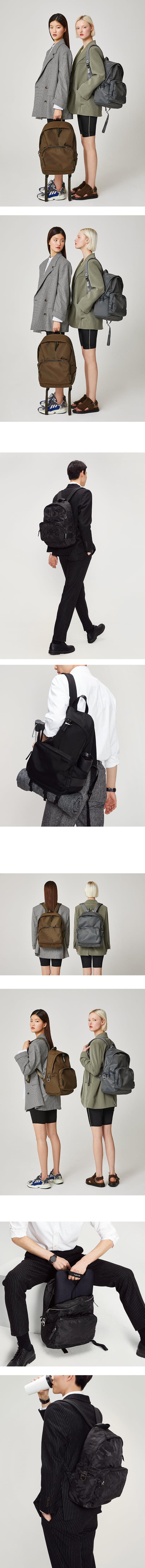 조셉앤스테이시(JOSEPH&STACEY) Ultra Backpack L Camouflage Black